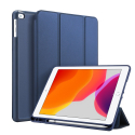 DUX-OSOMIPAD105BLEU - Etui iPad Pro 10.5 et Air-3 bleu Dux OSOM avec coque intérieure souple et rabat articulé