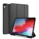 DUX-OSOMIPAD12918NOIR - Etui iPad 12.9 (2018) noir avec coque intérieure souple et emplacement stylet