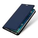 DUX-REDMI6PROBLEU - Etui Xiaomi Redmi-Note 6 PRO bleu fin avec rabat latéral aimant invisible et coque souple