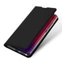 DUX-REDMINOTE10PRO - Etui Xiaomi Redmi Note 10 Pro fin avec rabat latéral aimant invisible et coque souple