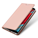 DUX-REDMIS2ROSE - Etui Xiaomi Redmi-S2 rose fin avec rabat latéral aimant invisible et coque souple