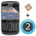 ECRAN-BB9700 - 2 films protecteur écran pour Blackberry 9700 Bold