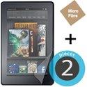 MUSCP0207 - 2 films protecteur écran Amazon Kindle Fire HD