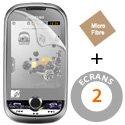 ECRAN-M5650 - 2 films protecteur écran pour Samsung Player MTV