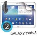 ECRAN-TAB3101 - 2 films protecteurs écran pour Galaxy Tab 3 10.1 tablette Samsung