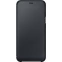 EF-WA600CBEGWW - Etui Galaxy A6 2018 Samsung origine rabat latéral noir