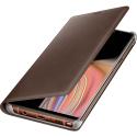 EF-WN960LAEGWW - Etui origine Samsung galaxy Note-9 en cuir marron