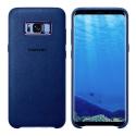EF-XG950ALE - Coque Samsung origine pour Galaxy S9 alcantara bleu