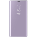 EFZN960CLEARVIOLET - Etui Samsung Clear-View Galaxy Note-9 rabat translucide violet