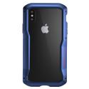 ELEMENT-VAPORS-IPXSMBLEU - Coque iPhone XS Max Element-Case Vapor-S aluminium bleu