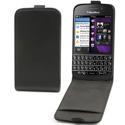 ELSLI0012-BBQ10 - Housse Etui fin noir à rabat Blackberry Q10