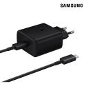 EP-TA845NOIR - Chargeur ultra rapide origine Samsung EP-TA845XBE noir avec câble USB-C