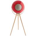 EUPHO-E3-ROUGE - Enceinte UB+ Eupho E3 rouge avec ses pieds en bois 60W