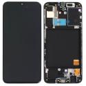 FACE-GALAXYA31 - Ecran complet origine Samsung Galaxy A31 coloris noir GH82-22761A / GH82-22905A