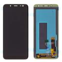 FACE-J600NOIR - Ecran LCD + Vitre tactile Samsung Galaxy J6 2018 noir GH97-21931A