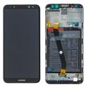 FACE-MATE10LITENOIR - Ecran complet Huawei Mate-10 LITE Vitre + Ecran LCD sur chassis assemblé coloris noir