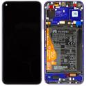 FACE-NOVA5TBLEU - Ecran complet Huawei Nova 5T Vitre + Ecran LCD sur châssis assemblé coloris bleu saphir