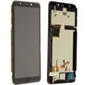 FACE-WIKOY60NOIR - Ecran complet Vitre et dalle LCD Wiko Y60 sur châssis coloris noir