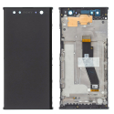 FACE-XPXA2ULTRANOIR - Ecran complet Xperia XA2 Ultra origine Sony assemblé sur châssis Vitre tactile et LCD coloris noir