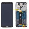 FACE-Y52018NOIR - Ecran complet origine Huawei Y5-2018 Vitre tactile + LCD sur châssis coloris noir