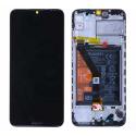 FACE-Y6SNOIR - Ecran complet origine Huawei Y6s Vitre tactile + LCD sur châssis coloris noir
