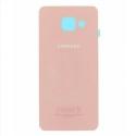 FACEAR-A510ROSE - Dos face arrière Galaxy A5-2016 en verre coloris rose