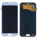 FACEAV-GALA52017BLEU - Ecran complet origine Samsung Galaxy A5-2017 coloris bleu GH97-19733C