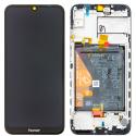 FACEAV-HONOR8ANOIR - Ecran complet Honor-8A coloris noir Vitre + LCD + Châssis + batterie