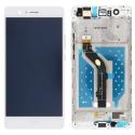FACEAV-P9LITEBLANC - Ecran complet Huawei P9 Lite Vitre + Ecran LCD sur chassis assemblé blanc