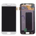 FACEAV-S6BLANC - Ecran complet origine Samsung Galaxy S6 coloris blanc Astral