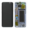 FACEAV-S8BLEU - Ecran complet origine Samsung Galaxy S8 coloris bleu