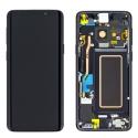 FACEAV-S9PLUSNOIR - Ecran complet origine Samsung Galaxy S9+ coloris noir GH97-21691A
