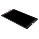 FACEAV-TABA101NOIR - Ecran complet Tab-A 2016 SM-T580 noir Vitre tactile et LCD assemblé