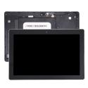 FACEAV-Z300MNOIR - Ecran complet Asus ZenPad 10 Z300M chassis + LCD + vitre tactile coloris noir