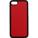 FAI747CQLIS130 - Coque iPhone 7/8 Faconnable coloris rouge