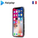 FAIRPLAY-CAPELLAIP7 - Coque Capella iPhone 7/8/SE(2020) transparente avec contour à coussins d'air