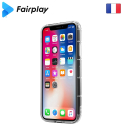 FAIRPLAY-CAPELLAMI10 - Coque Capella Xiaomi Mi-10 transparente avec contour à coussins d'air
