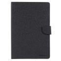 FANCY-IPAD97NOIR - Etui iPad 9,7 pouces Fancy-Diary noir logements cartes fonction stand