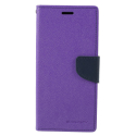 FANCY-J6PLUSVIOLET - Etui Galaxy J6+ Fancy-Diary violet logements cartes fonction stand