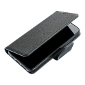 FANCY-PIXEL4A - Etui Google Pixel 4A Fancy-Diary noir logements cartes fonction stand