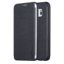 FIB-S6EDGENOIR - Etui X-Level FIB pour Galaxy S6 Edge coloris noir rabat latéral