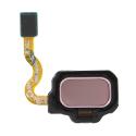 FINGERPRINT-S8ROSE - Bouton d\\\'empreinte digitale pour Galaxy S8 / S8+ coloris rose gold