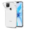 FITTY-IP11PROMAX - Couple iPhone 11 PRO Max souple flexible et ultra-fine transparente