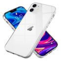 FITTY-IP12MINI - Couple iPhone 12 Mini souple flexible et ultra-fine transparente
