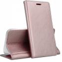 FOLIO-P40LITEROSE - Etui Huawei P40 LITE rabat latéral rose gold fonction stand