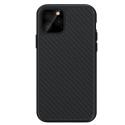 FP-COVCARBOIP12 - Coque antichoc FairPlay iPhone 12 et 12 Pro avec revêtement aspect carbone