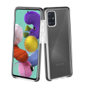 FP-GEMINIA41 - Coque antichoc Samsung Galaxy A41 Gemini transparente et noir antichoc