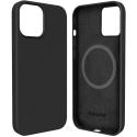 FP-SIRIUSIP13PRO - Coque souple Soft-Touch iPhone 13 Pro coloris noir mat avec fonction MagSafe