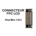 FPC-LCD-IPADMINI23 - Connecteur FPC LCD iPad Mini 2/3 a souder carte mère