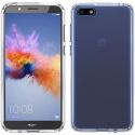 FUZION-Y52018TRANS - Coque Huawei Y5-2018 Fuzion bumper souple et dos transparent rigide